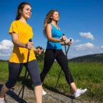Скандинавская ходьба – популярный вид фитнеса!