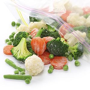 Как заморозить овощи и зелень на зиму?