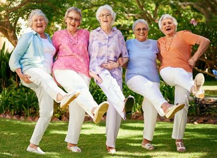 Танцевальная терапия для пожилых людей